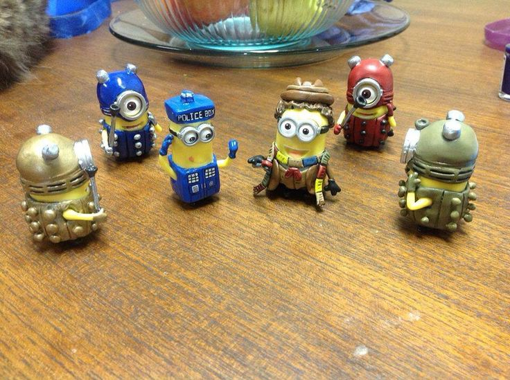 Minions do Doctor Who