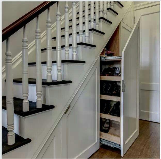 Stauraum unter der Treppe, Treppe and unter der Treppe on Pinterest