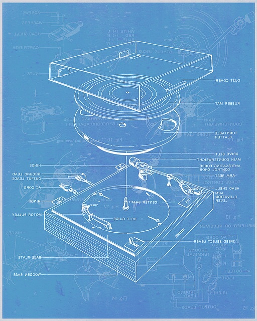 "Unplanned FUNNY PHOTO: But you won't ""get it"" until you enlarge this diagram for how to build your own vinyl record turntable. #DdO:) - https://www.pinterest.com/claxtonw/humor-pics/ - HUMOR PIC. Spoiler Alert: The pin does NOT have link to studio tool instructions. See REAL photos to inspire at https://www.pinterest.com/claxtonw/music-studio-stuff/ MUSIC STUDIO STUFF. Fun pin via Spreadmix with description: ""This is so cool! Our school needs turntables for the dances anyway so why not build…"