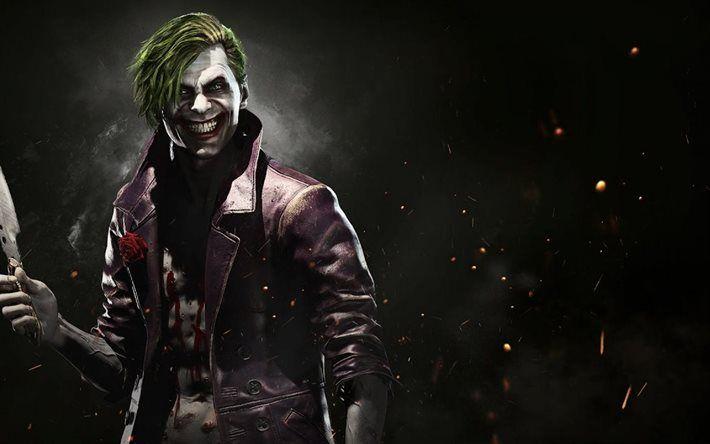 Joker, fighting, 2017 games, Injustice 2