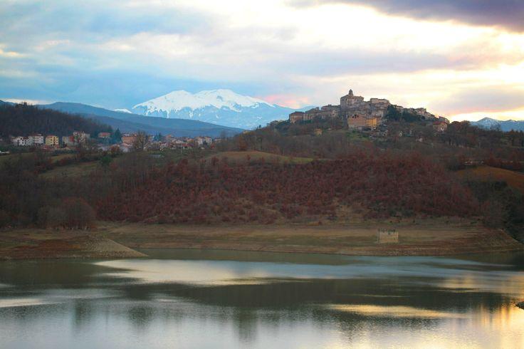 Spinoso e la Diga del Pertusillo - Basilicata