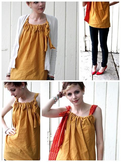 make your own versatile shirt