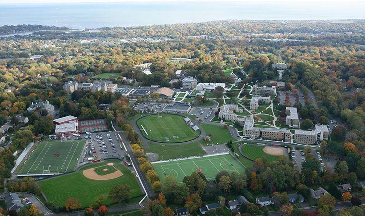 Fairfield University campus.
