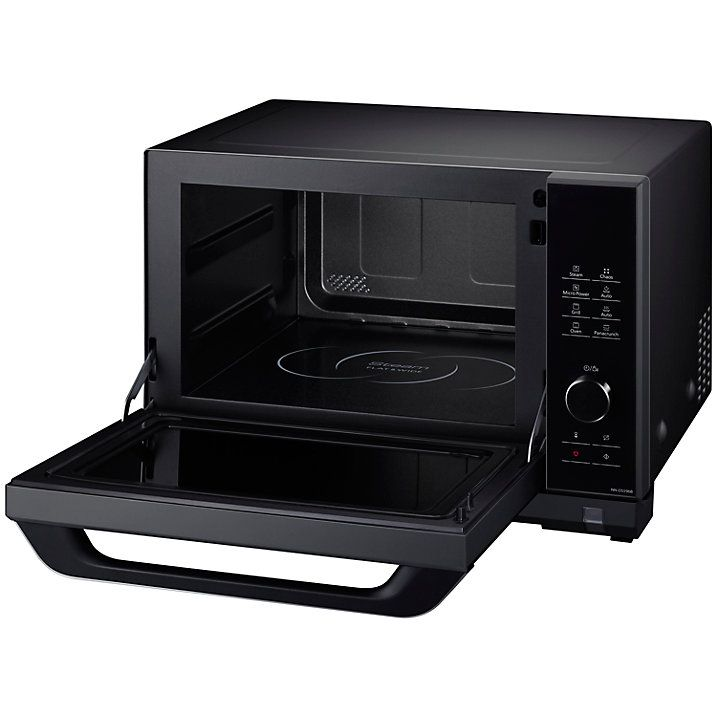 Buy Panasonic NN-DS596BBP Freestanding 4-in-1 Steam Combination Microwave Oven with Grill, Black Online at johnlewis.com