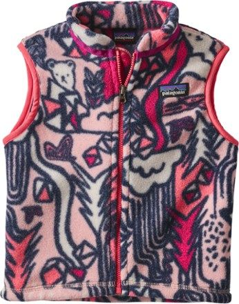Patagonia Synchilla Fleece Vest Toddlers Infants Rei