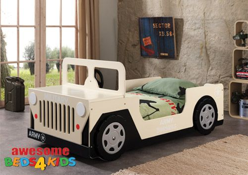 Kids Beds, Childrens Beds, Single Beds, Childrens Furniture And Bunk Beds - Single Army Jeep Bed