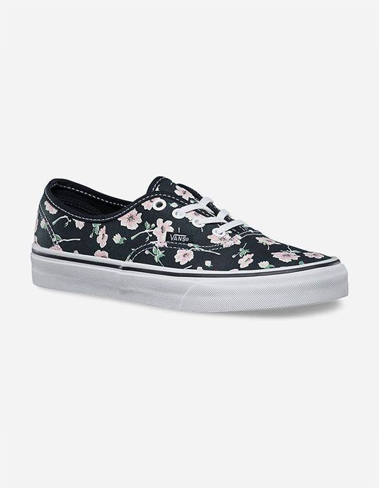 VANS Vintage Floral Authentic Womens Shoes