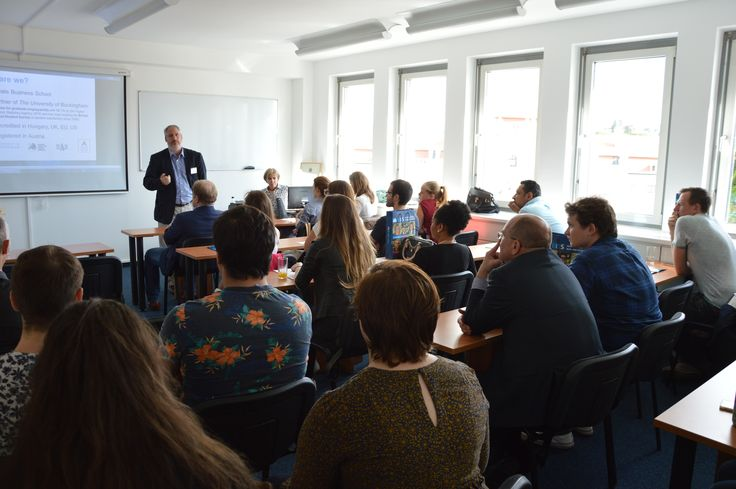 We had a wonderful Open House on our new Vienna Campus! A diverse group of prospective students filled the room and we were glad to meet many enthusiastic and motivated people.  We hope to welcome you among our students soon!