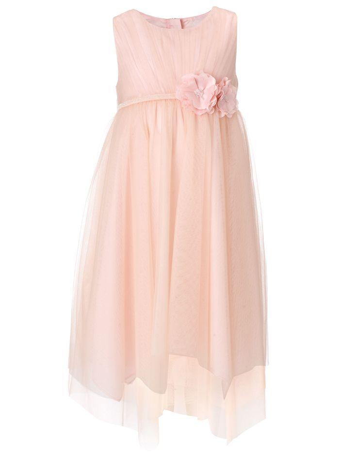 Valentina Glitter Dress   Pink   Monsoon