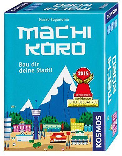 Kosmos - Machi Koro, ab 8 Jahren, 2-4 Spieler
