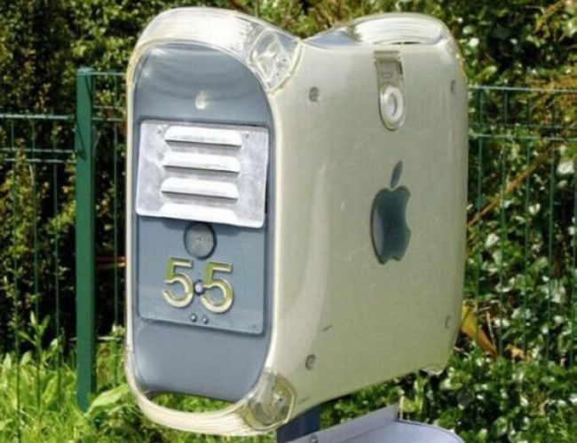 recycled DIY mailbox?