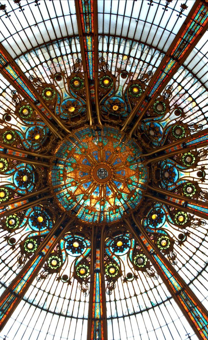Galeries Lafayette, Paris, France Le dôme
