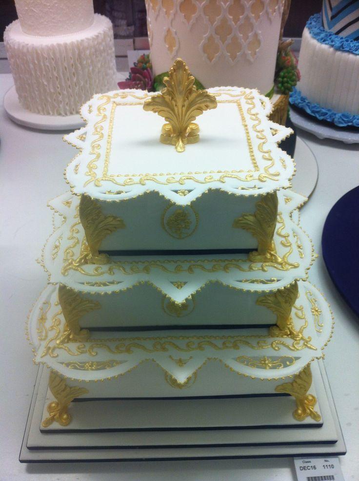 Decorative Multi Tiered Cake Oriental Royal Melbourne Show 2014