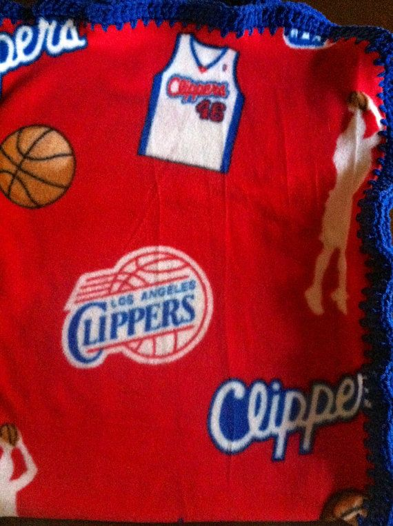 "Los Angeles Clippers Basketball Fleece Sports Baby by CozyKrafts, $19.95  So many teams to choose from for the little ""Fan"" in your life!"