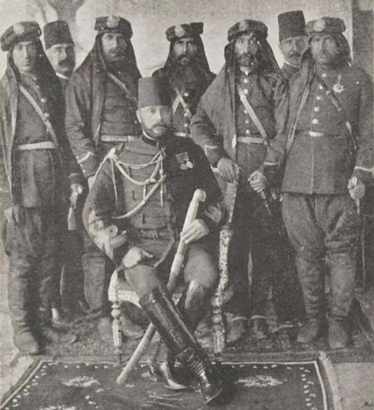 [Ottoman Empire] Garrison in Baghdad, Officers of the 4th Army, Iraq (Bağdat'da Osmanlı Kışlası ve 4. Ordu Subayları)