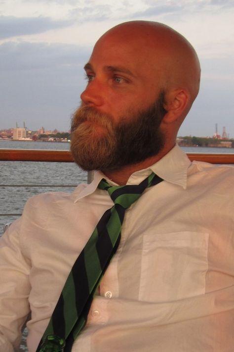 The Ubiquitous Beard a bald beard :-)