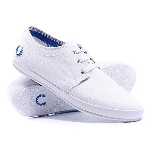 Белые кроссовки фред перри