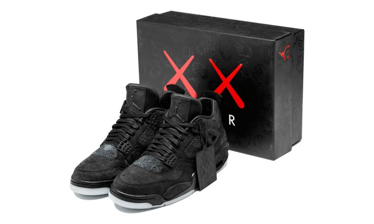 "How to Buy the KAWS x Air Jordan 4 ""Black"" on Cyber Monday"