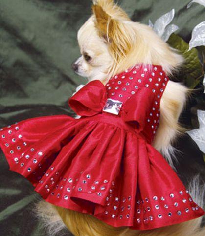 Swarovski Holiday Dog Dress
