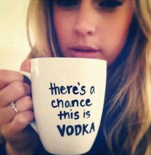 There's a chance this is vodka.