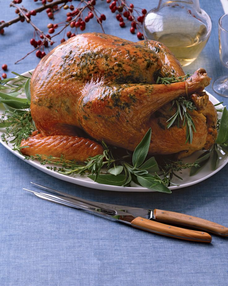 This traditional holiday bird brings much more to the table than just great taste. Turkey breast packs more protein than chicken breast or trimmed top loin beefsteak with just 1 gram of fat per 3-ounce serving, and it contains selenium, which may help prevent certain cancers and heart disease. Per serving: 728 calories, 89 g protein; 38 g fat; 2 g carb; 0 g fiber