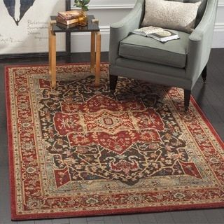 Safavieh Mahal Traditional Grandeur Red/ Red Rug (10' x 14') | Overstock.com Shopping - The Best Deals on 7x9 - 10x14 Rugs