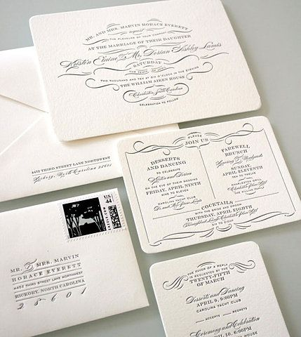 gorgeous. wish I knew who did it ... I hate links that go to websites and not the actual page with the image.: Design Collection, Sideshow Press, Letterpresses Ideas, Letterpresses Invitations, Wedding Invitations, Graphics Design, Graphics Exchange, Graphics Projects, Burgu Scripts