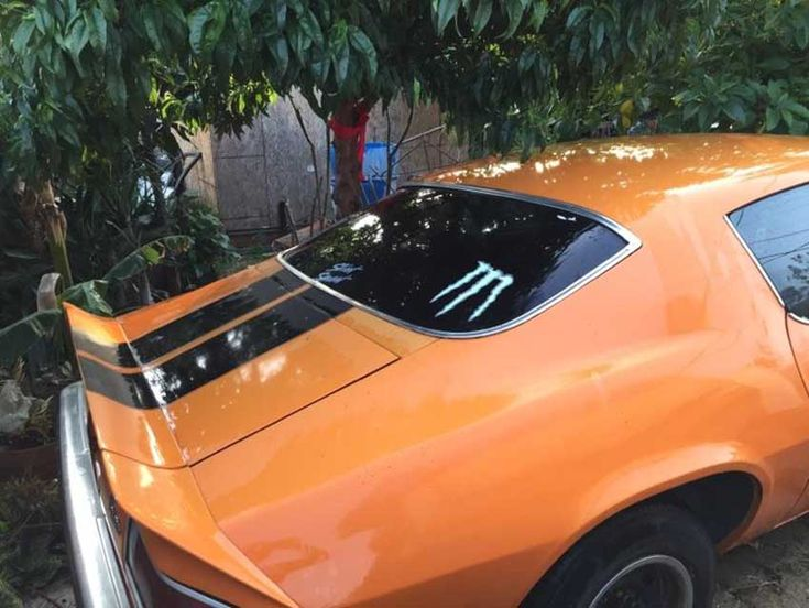 2nd Gen 1974 Chevrolet Camaro W Rebuilt Engine For Sale Camaro