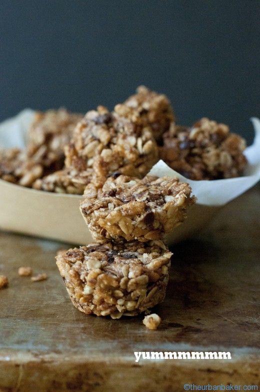 Snap Crackle Pop Breakfast Bites - Gluten Free + Addicting | @Susan Salzman | www.theurbanbaker.com