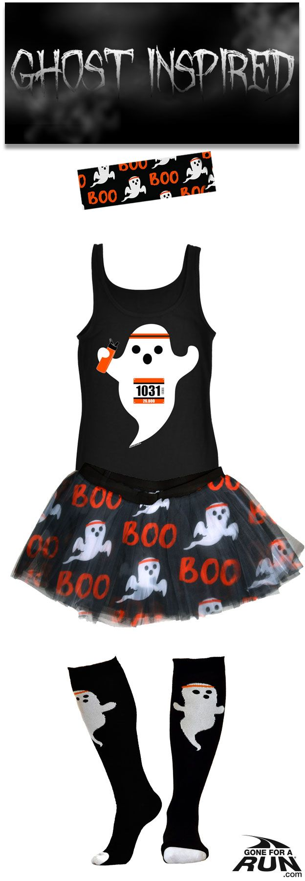 Trick or run? Get in a #spooky fun mood with our #Halloween inspired running…