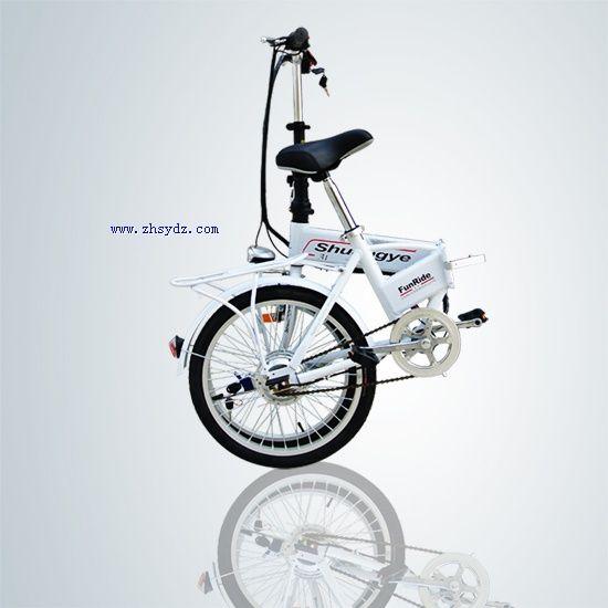batería oculta 20 pulgadas bicicleta plegable eléctrica
