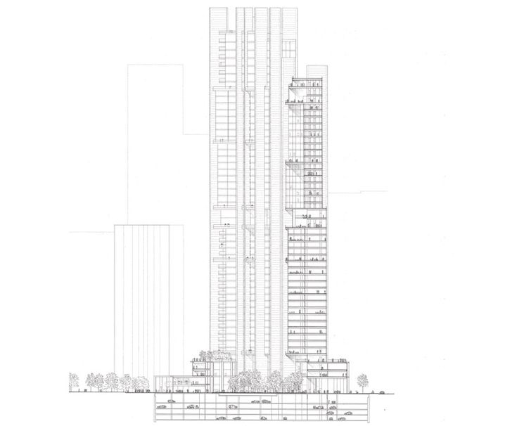 Architectural Drawings Of Skyscrapers 138 best skyscrapers images on pinterest | skyscrapers
