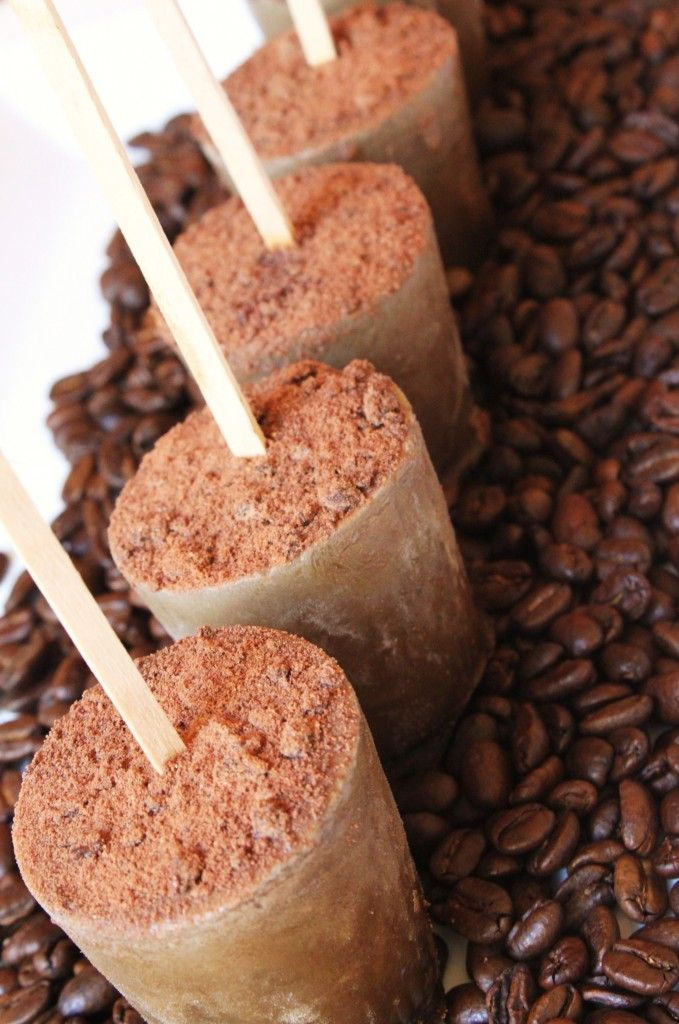Turkish Coffee Popsicles - in love with anything cardamom, so I gotta try this.