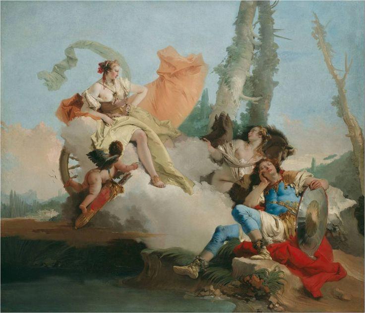 Rinaldo a Armida - Giovanni Battista Tiepolo