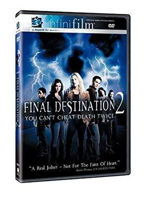 Final Destination 2 Ali Larter, Andrew Downing, A.J. Cook, Michael Landes, T.C. Carson, Enid-Raye Adams, Tony Todd, James N. Kirk, Jonathan Cherry, Keegan Connor Tracy