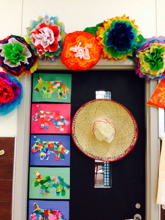Cheap Spanish Classroom Decorations ~ Best cinco de mayo bulletin board images on pinterest