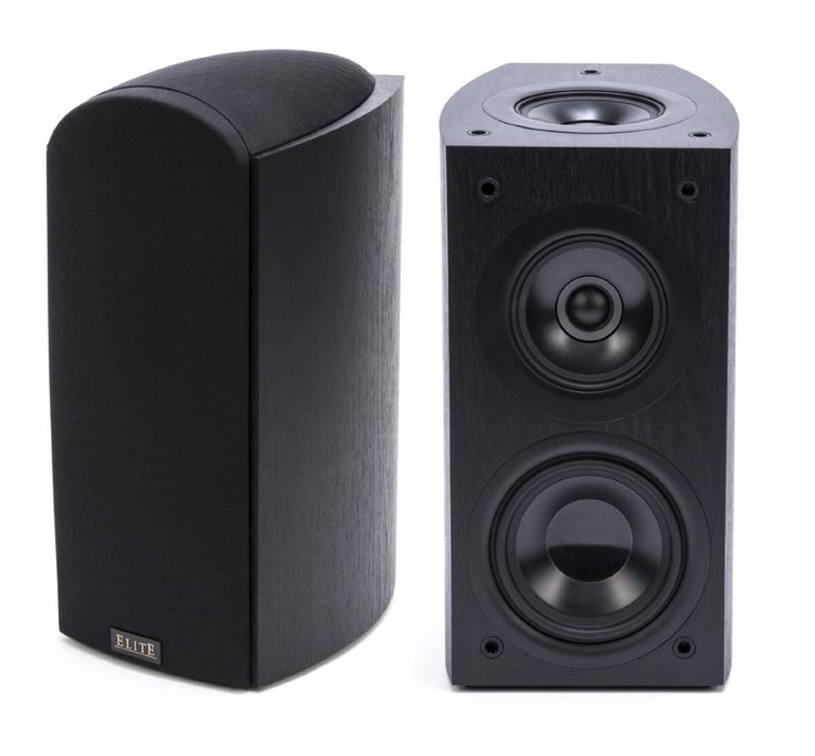 Amazon.com: Pioneer Elite SP-EBS73 Dolby Atmos-enabled Andrew Jones Bookshelf Speakers (Pair): Electronics