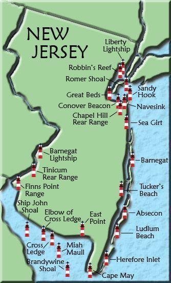 Jersey shore hook up chart