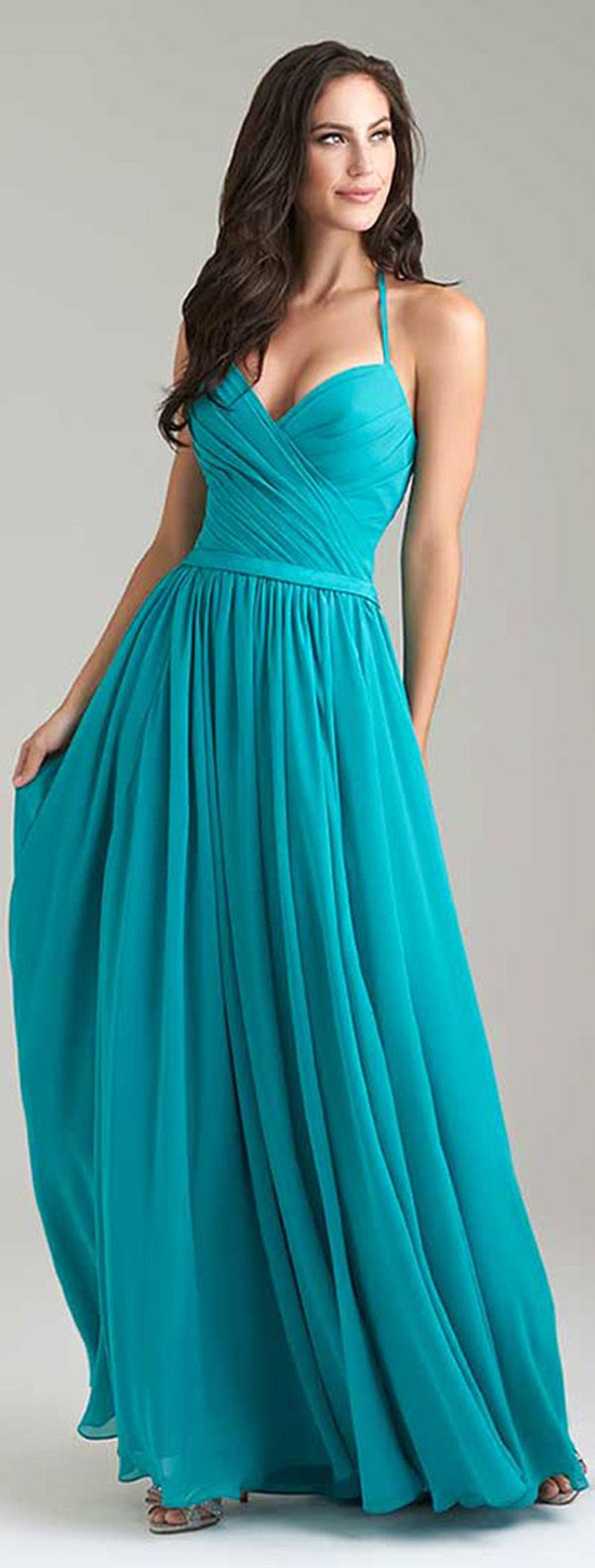 1189 best bridesmaid dresses images on pinterest mermaid stunning chiffon halter neckline a line bridesmaid dresses with belt ombrellifo Gallery
