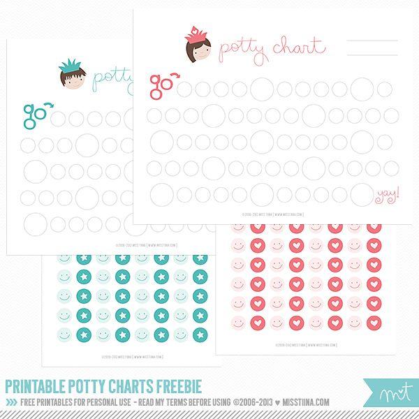 Printable Potty Training Chart: Best 25+ Printable Potty Chart Ideas On Pinterest