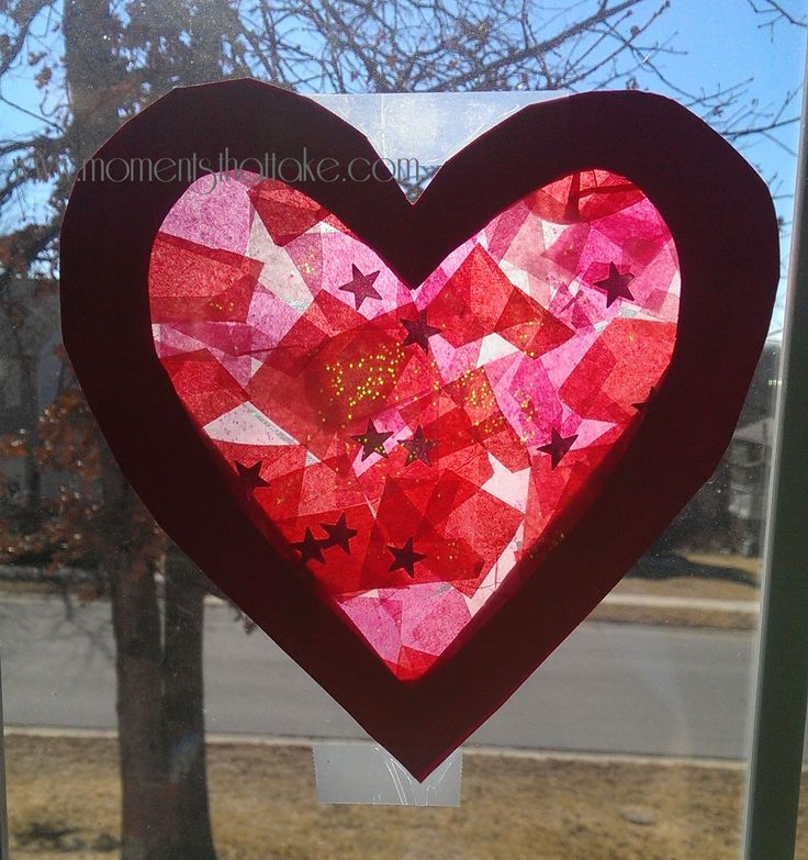... Valentine Crafts For Toddlers To Make. Heart Suncatcher