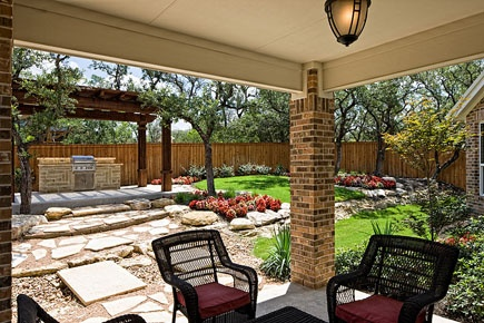 A Lanai Is A Covered Porch Often Screened In And When