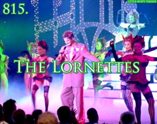I miss you Lorne... R.I.P