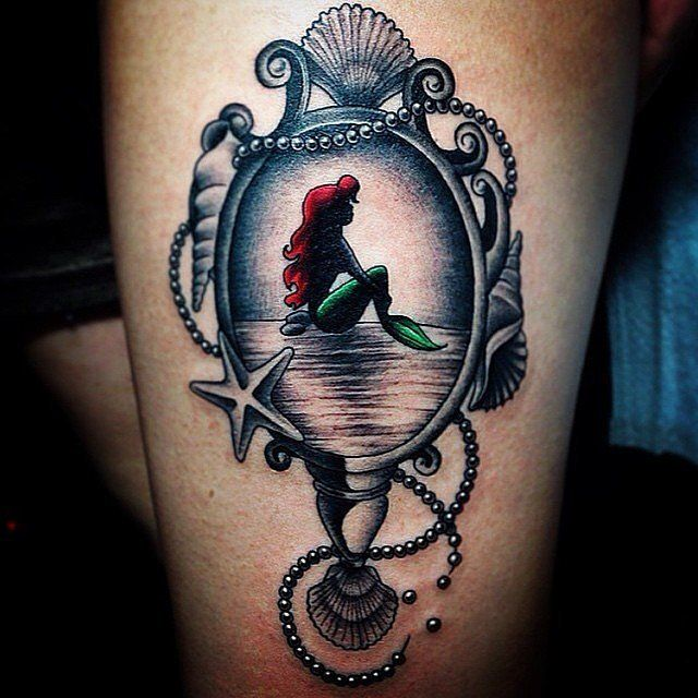 These 20+ Disney Princess Tattoos Are the Fairest of Them All