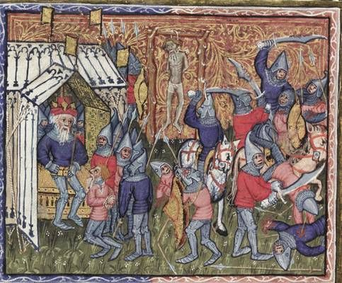 1400 Bodley 264 - Alexander and Dindimus Bodleian Library