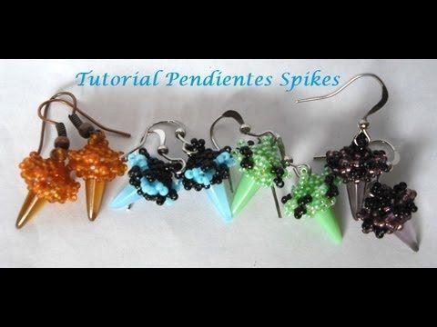 Tutorial pendientes Spikes. DIY. - YouTube