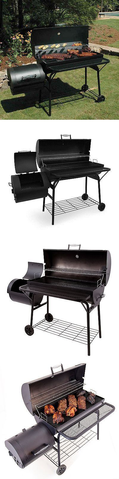 Barbecues Grills and Smokers 151621: Char-Broil American Gourmet Deluxe Offset Charcoal Smoker And Grill -> BUY IT NOW ONLY: $157.67 on eBay!