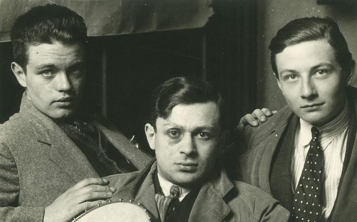 René Crevel, Tristan Tzara and Jacques Baron , 1922.