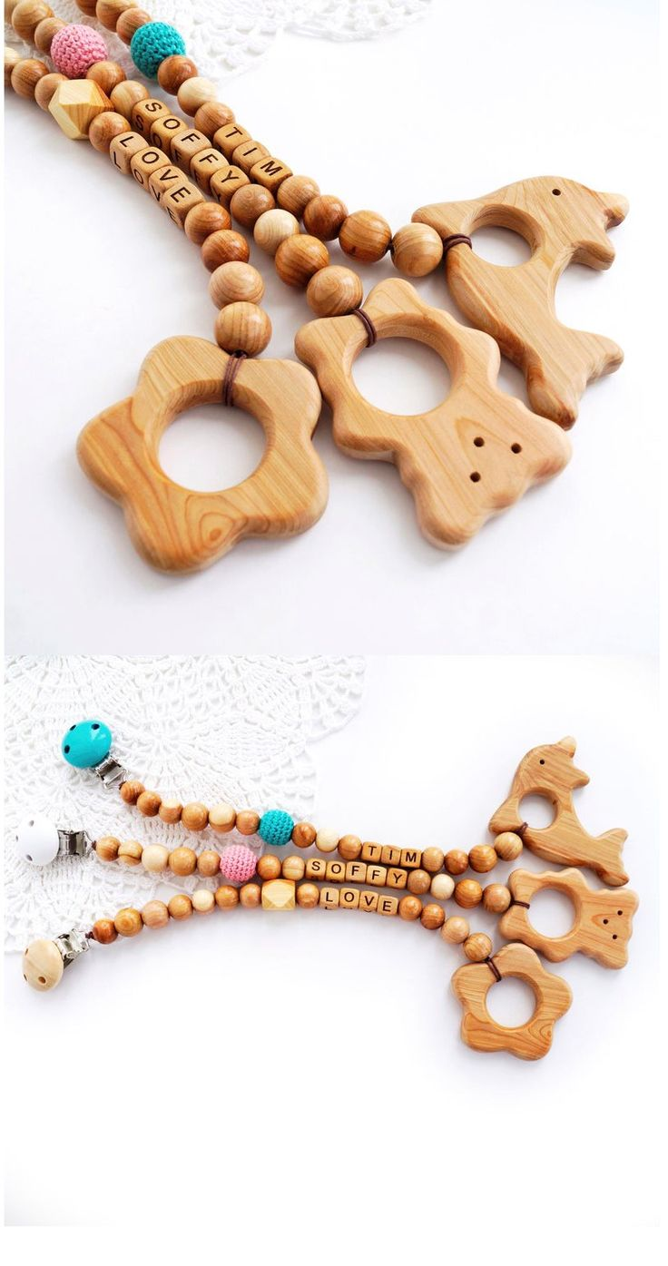 Personalized Creations Toys For 6 Month Old Dummy Clips