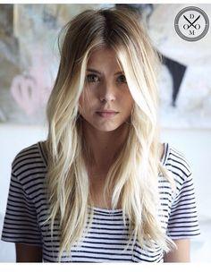 blonde effect.